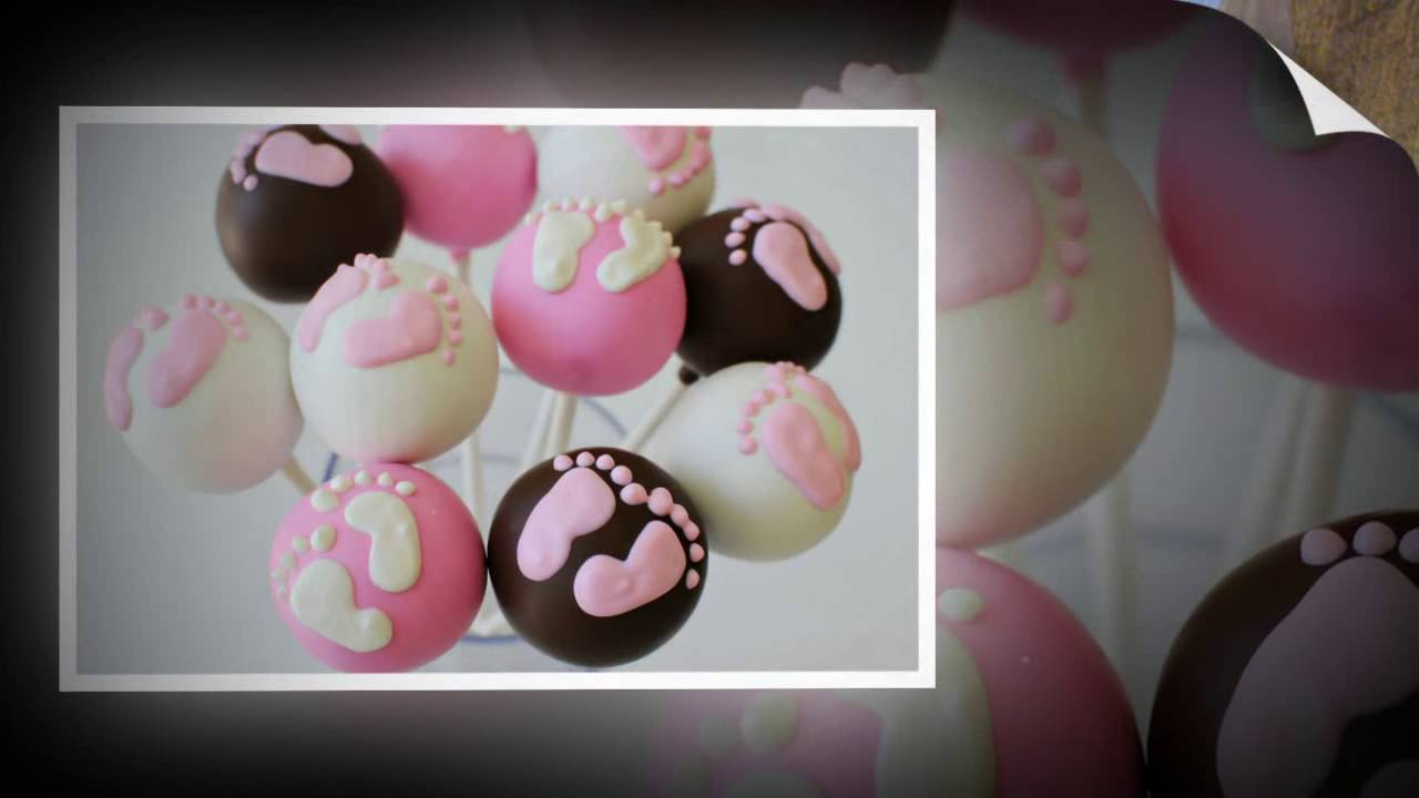 Baby Shower Cake Pops Decorating Ideas Youtube