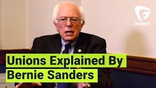 Bernie Sanders Explains Unions to Young People