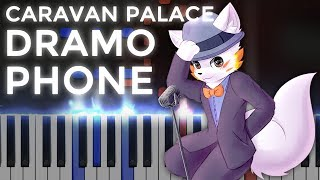 Video Caravan Palace · Dramophone | Ragtime LyricWulf Piano Tutorial on Synthesia download MP3, 3GP, MP4, WEBM, AVI, FLV Juli 2018