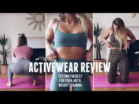 ACTIVEWEAR REVIEW | Tala, Girlfriend, Alo Yoga & More! | CAT MEFFAN