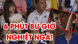 Quang Hải và bạn gái ngơ ngác, Đình Trọng thất thần nhìn Hà Nội FC thua Sài Gòn FC | NEXT SPORTS