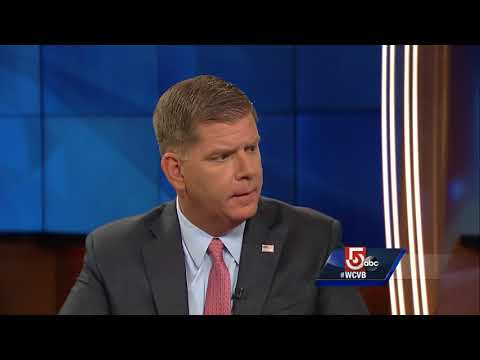 Boston Mayor questioned about names of Faneuil Hall, Yawkey Way