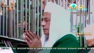 Habib Luthfi bin Yahya - Tausiyah di Haul Agung Sunan Ampel ke-566