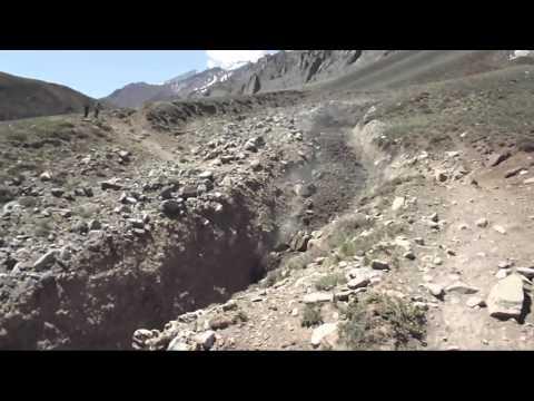 Aconcagua Rockslide 2015