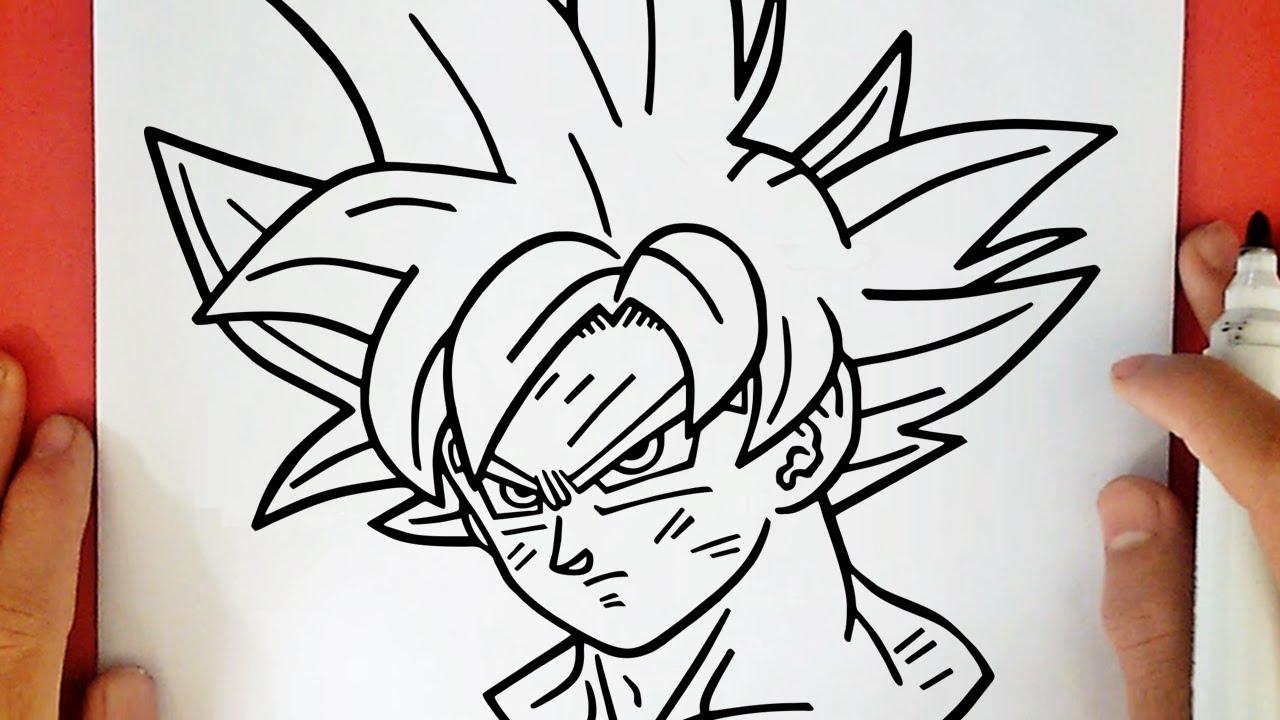 Comment Dessiner Goku Ultra Instinct Maitrise Youtube