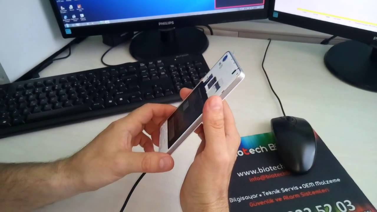 Lenova A858t model cep telefonu hard reset atma, yazılım ...
