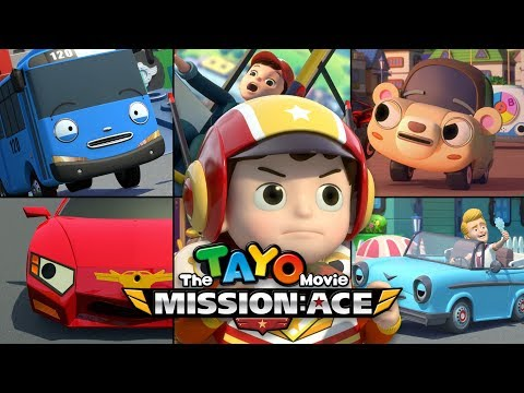 Thumbnail: [The Tayo Movie] Mission: Ace 🎥
