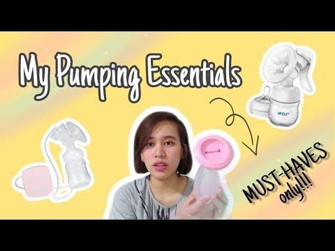 4 PUMPING ESSENTIALS & MUST-HAVES | PUMPING BREASTFEEDING (Tagalog) | Philippines | Erika Li ♥