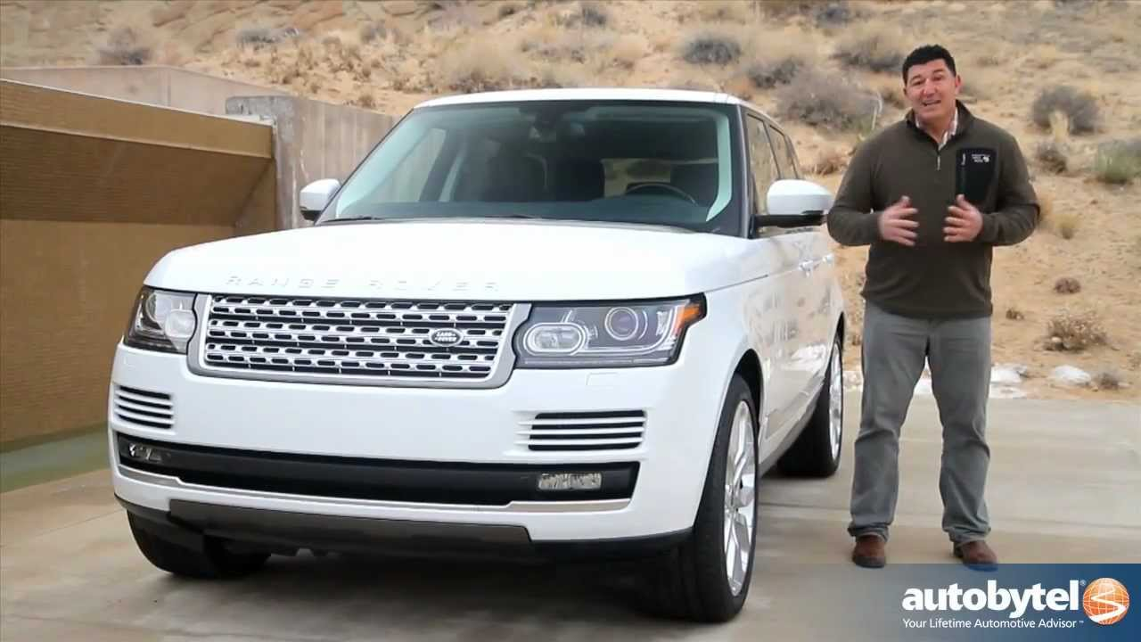 2013 Land Rover Range Rover Test Drive Luxury Suv Video Review