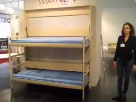 LETTI A SCOMPARSA - SMARTBEDS - YouTube