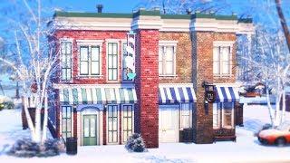 Зал для ЙОГИ и КОФЕЙНЯ | Строительство в The Sims 4