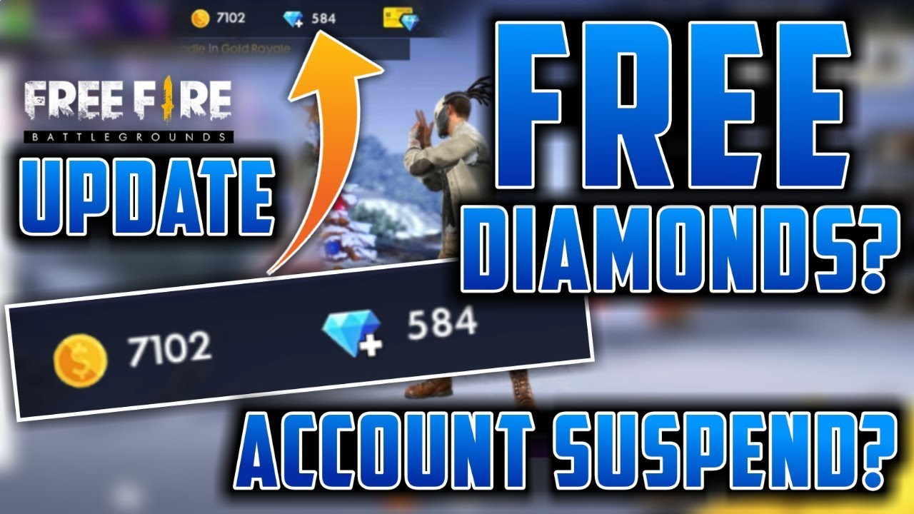FREE DIAMONDS IN FREE FIRE, Hacker Suspend, Ping Problem | Garena Free Fire