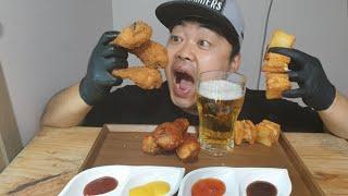 [먹방힐링TV]맥주한잔합니다~!멘보샤,닭다리먹방!! A…