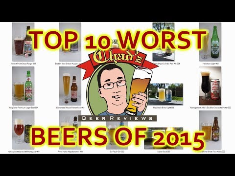 Top 10 Worst Beers Of 2015