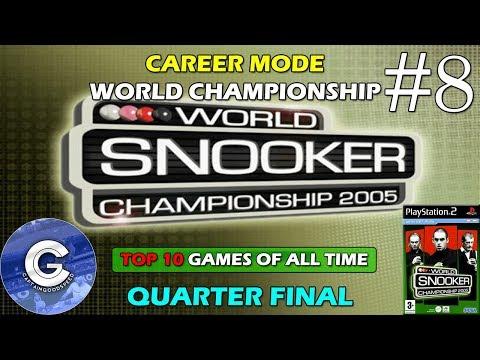 Let's Play World Snooker Championship 2005 | Career Mode #8 | World Championship | Quarter Final