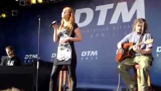 Glashaus - Licht  DTM Präsentation Wiesbaden 2010