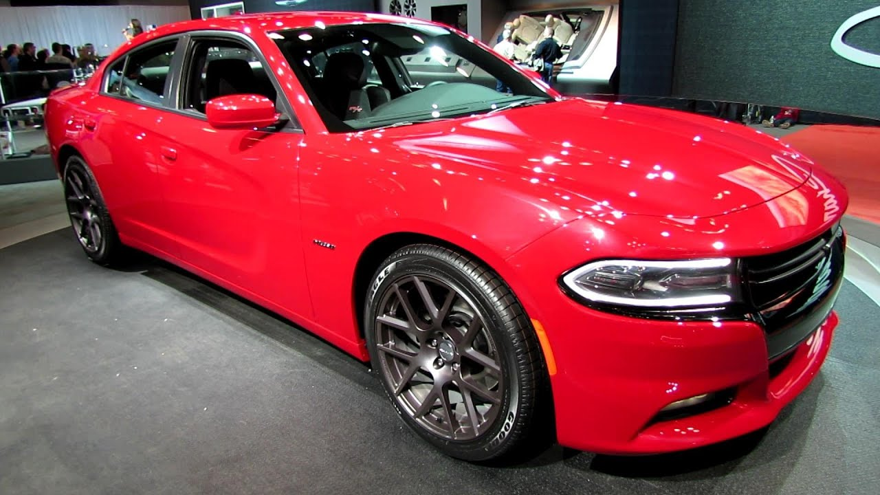 2015 Charger Srt8 >> 2015 Dodge Charger R/T - Exterior Walkaround - Debut at 2014 New York Auto Show - YouTube