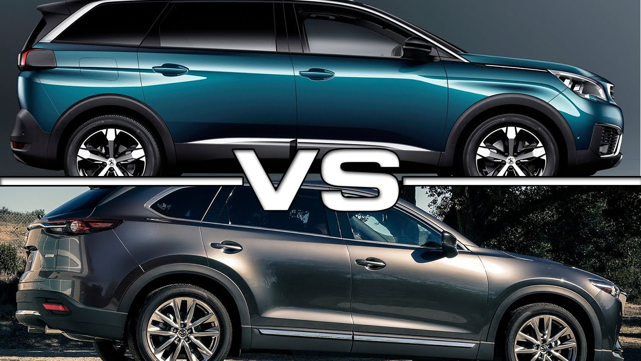 Peugeot 5008 Vs Mazda Cx 9 Youtube