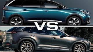 Peugeot 5008 vs Mazda CX-9