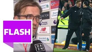 Jürgen Klopp rastet aus und erntet danach Lob - Liverpool gegen Chelsea