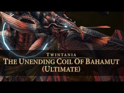 FFXIV - (PF) The Unending Coil of Bahamut (Ultimate) Twintania Phase