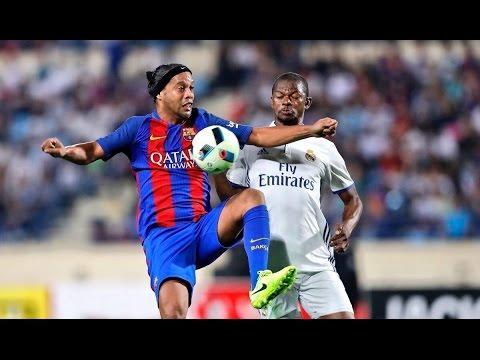 Leyendas Barcelona 3-2 Real Madrid | Goles | 2017 | El Clasico