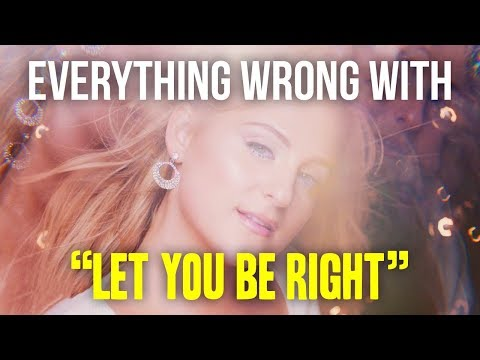"""Everything Wrong With Meghan Trainor - """"Let You Be Right"""""""