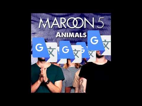 Maroon 5 - Animaux (TRANSAT)