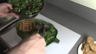Wcs Fyeot 2013 - Savory Waffles & Salad Lyonnaise, Tandoori Lamb Pizza, And Apple Pie Egg Rolls