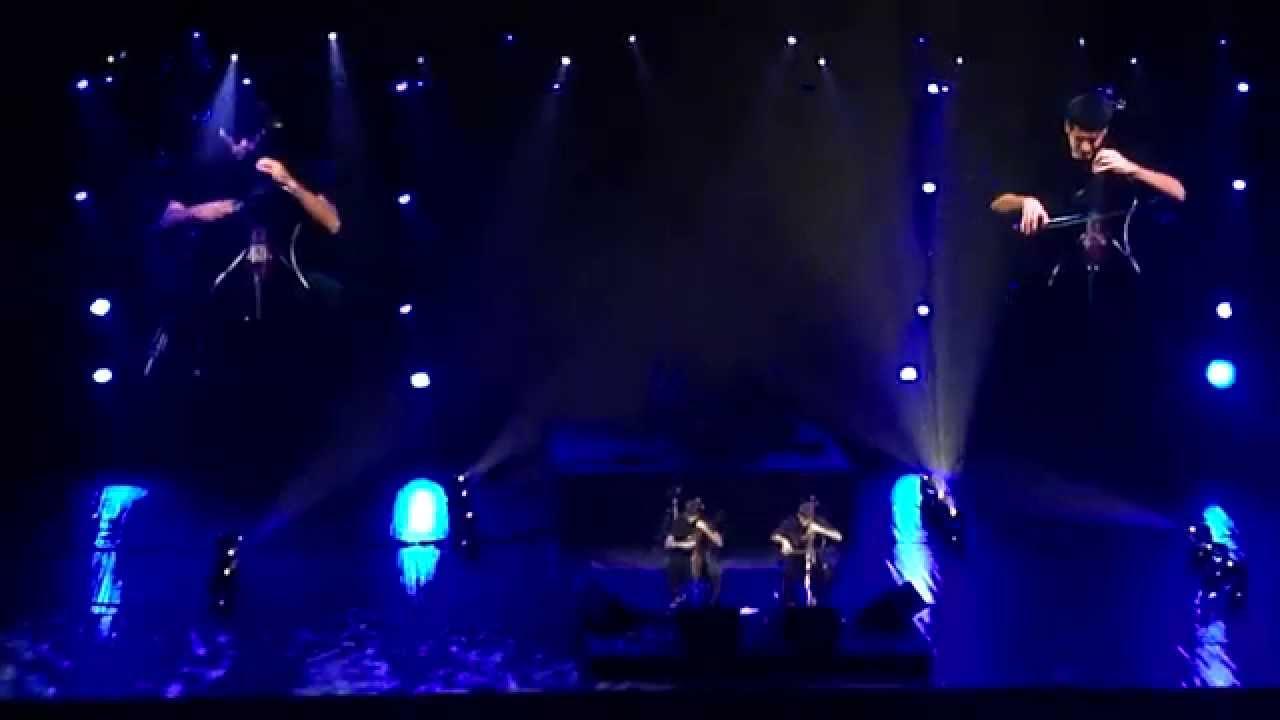 2Cellos - The Resistance, Belgrade, 2012