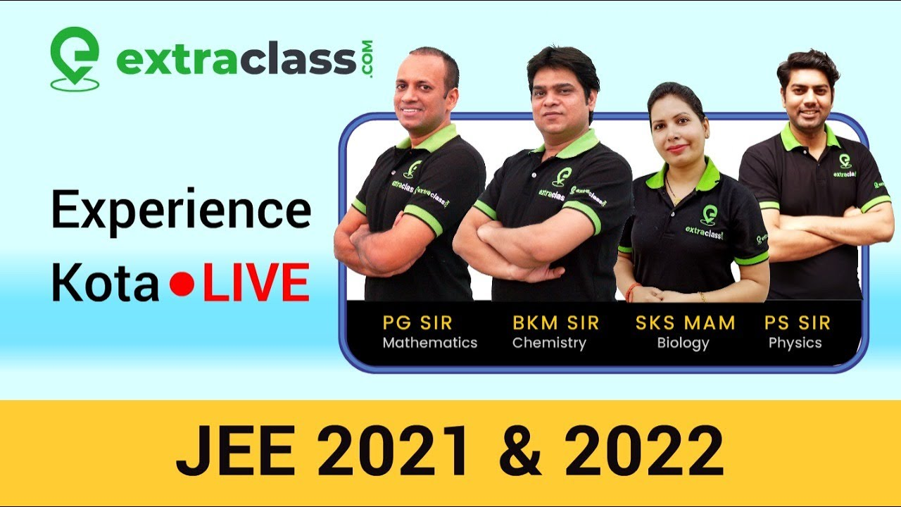 LIVE ???? Classes for JEE 2021 & 2022 from KOTA | Starting 6th May 2020
