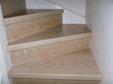 Laminate stairs installing laminate flooring on stairs for Installing laminate flooring on stairs
