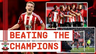 BEATING THE CHAMPIONS | Southampton set new Premier League record