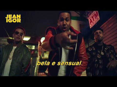Romeo Santos, Daddy Yankee, Nicky Jam - Bella y Sensual (Legendado-Tradução) [OFFICIAL VIDEO]