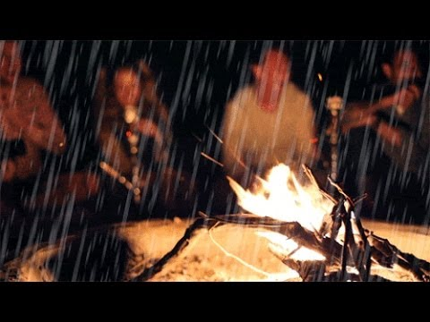 Nature Sounds: Crackling Fire with Rain and Thunder
