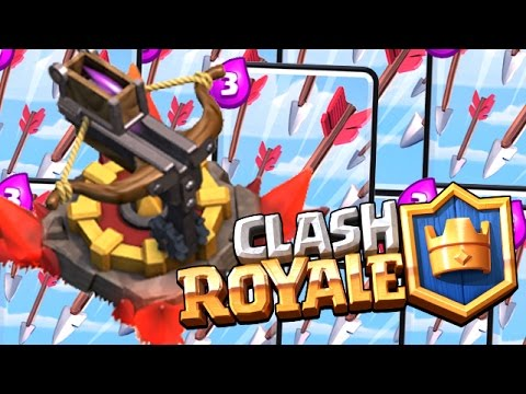 Deck clash royale protect the arc x youtube for Clash royale deck arc x