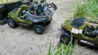 The Convoy (Halo Mega Bloks Stopmotion Contest Entry)