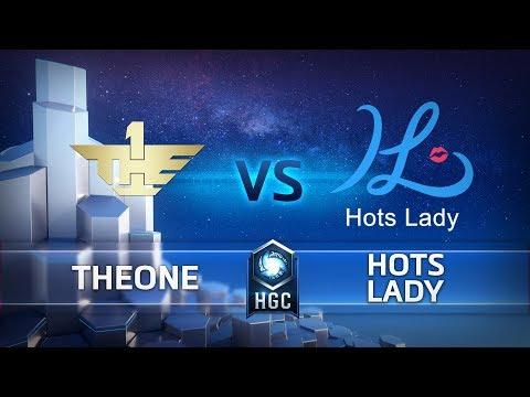 HGC CN - Phase 2 Week 9 - HotsLady vs TheOne - Game 1