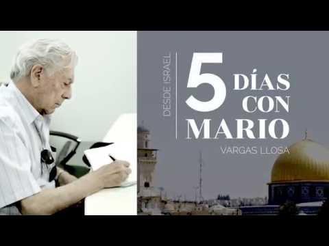 Cinco Días Con Mario: El Documental Del Viaje De Vargas Llosa A Cisjordania