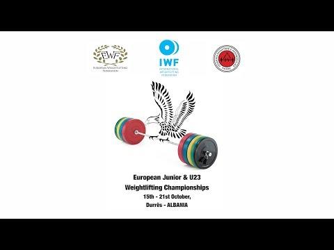 2017 European Junior & Under 23 Championships - Men Junior 85 Kg