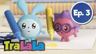 BabyRiki - Carioci colorate (Ep. 3) Desene animate | TraLaLa
