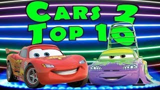 Cars 2 HD Gameplay Compilation Top 10 BEST MULTIPLAYER FINISHES 2014 !!!