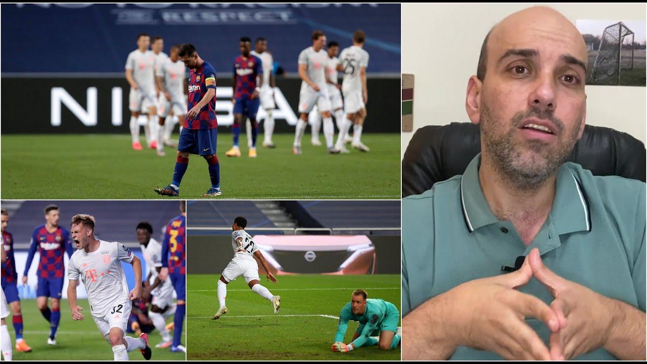 بايرن ميونخ برشلونة 8-2 .. أسباب الكارثة الكتلونية