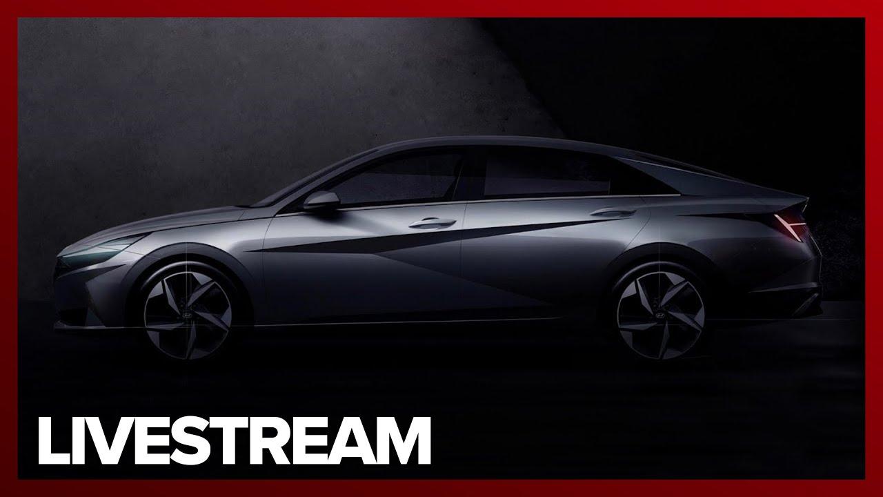 Watch Hyundai reveal the wild new 2021 Elantra