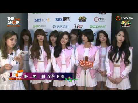 [ENG SUB] 150421 OH MY GIRL (오마이걸) Warm Up Time Interview