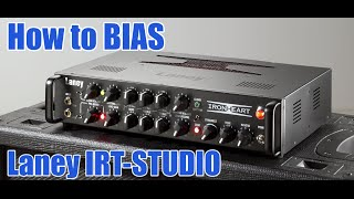 How to BIAS the Laney IRT-STUDIO with only a Multimeter