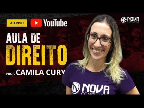 PM SP: Constituição do Estado de São Paulo - Camila Cury