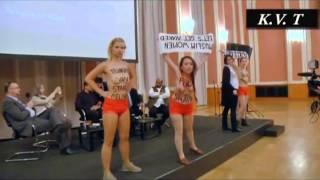 فمنیسم علیه اسلام Femen's protest against Islam