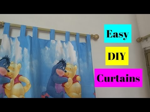 How To Make Curtains   Easy DIY