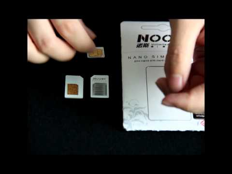 how to cut micro sim from normal sim
